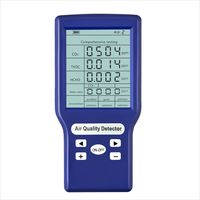 Multifunktionale CO2 ppm-Messgeraete Mini-Kohlendioxid-Detektor Gasanalysator Protable Air Quality Tester
