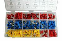480Stk Ringkabelschuhe Kabelschuhe Quetschverbinder Auto KFZ Sortiment Box Set