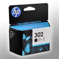 HP Tinte F6U66AE  302  schwarz
