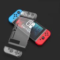 Lammcou Schutzhülle Protective Case für Nintendo Switch & Switch Panzerglas Display Schutzfolie & Joystick Schutzkappen für Nintendo Switch Zubehör Accessories Kit
