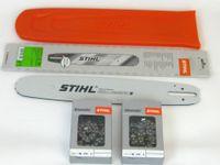 """Stihl 3003 000 6811 Rollomatic E 37cm 0,325""""1,6mm+ 2 Stihl Vollmeißelken +Stihl Schwertschutz  Stihl"""