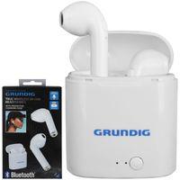 Grundig Bluetooth In Ear Kopfhörer kabellos Headset Ladebox Ohrhörer Lautsprecher Mikrofon Ohrstöpsel