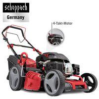 Scheppach 6 in 1 Benzin-Rasenmäher MS226-53 SE Rasentrimmer Gartenpflege