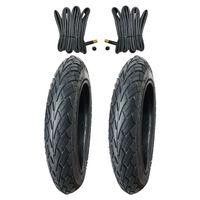 2x Kujo Fahrradreifen 12 Zoll Reifen 12.5 x 2.25 62-203 inkl. 2 x Schlauch