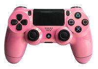 PS4 Controller - Original Sony Playstation Dualshock 4 V2 Wireless - Custom Pink Rosa Glitter