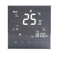 Ikayaa BTH-2000L-GALW WiFi Smart Thermostat Digitaler Temperaturregler für Wasserheizung,Weiß
