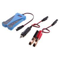 12V DC LED Digitall Batterietester mit Zigarettenanzünder Stecker für LKW PKW KFZ - Bunt