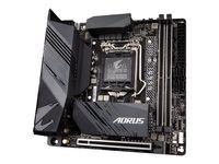 Gigabyte B560I AORUS PRO AX - 1.0 - Motherboard - Mini-ITX - LGA1200-Sockel - B560 Chipsatz - USB-C Gen1, USB 3.2 Gen 1, USB 3.2 Gen 2 - 2.5 Gigabit LAN, Wi-Fi, Bluetooth - Onboard-Grafik (CPU erforderlich)