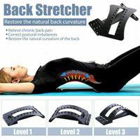 Miixia Back Magic Stretcher Rückenstrecker Lendenwirbel Halswirbel Traktion Gerät