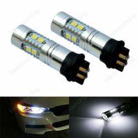 Paar PW24W PWY24W LED 10W Chip Birne Tagfahrlicht Blinklicht Xenon Weiß 12V DRL
