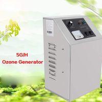 5000mg/h Ozongenerator Luftreiniger Ozongerät  Ozon Wasserreiniger    Edelstahl  Timer 220V   Luft-Wasserfilter