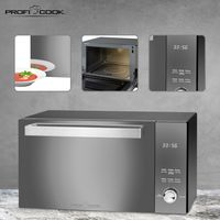ProfiCook Mikrowelle PC-MWG 1204 mit Grill