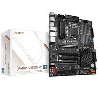 Gigabyte W480 VISION W - Intel - LGA 1200 - Intel® Celeron® - Intel® Core™ i3 - Intel Core i5 - Inte