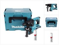 Makita DHR 263 ZJ 2x18V / 36 V SDS-Plus Akku Bohrhammer im Makpac 4 Solo + Bohrerfett