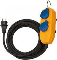 BRENNENSTUHL Baustellenkabel IP54 10m mit Powerblock 1151740010