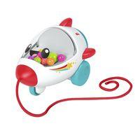 Fisher-Price Rollende Rakete, Baby-Spielzeug, Nachziehtier, Nachzieh-Spielzeug