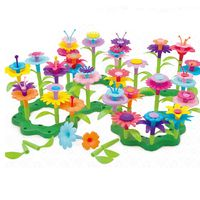 Kunst Blumenarrangement Spielzeug f/ür Kinder 54pc DIY Bouquet Sets Geschenk f/ür 3-6 J/ährige M/ädchen Desire Deluxe Blumengarten Spielzeug f/ür M/ädchen