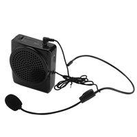 Sprachverstärker Drahtloses Mikrofon Tragbarer Lautsprecher 20W 1800mAh Unterstützt MP3/4 für Teacher Trainer Tour Guide