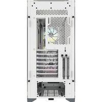 Corsair ATX PC Smart Case 5000X RGB Seitenfenster, Weiß, Mid-Tower, Netzteil im Lieferumfang enthalten Nein