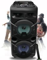Partybox  Mobile PA Box  Bluetooth LED Akku Karaoke Musicbox 609