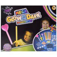 TE-Trend 249-teilig Glow Sticks Neon Knicklichter Leuchtstäbe Lichtstäbe Leuchtbänder Light Sticks Partyspaß Mehrfarbig