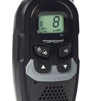 Topcom Funkgerät Walkie-Talkie Sprechfunk-Set Twintalker Clip RC 6410