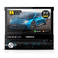 Autoradio NEOTONE NDX-150A | 1 DIN | Navigation mit Europakarten + LIFETIME Update | Android 10 | DAB+ Unterstützung | DVD | 7 Zoll | 16GB inkl | WLAN | Bluetooth | OBD 2 | USB