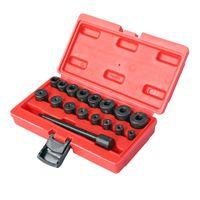 Universal Kupplungs Zentriersatz 17 tlg. Zentrierdorn Zentrierwerkzeug Set