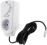 Steckdosen-Thermostat 'ST-50' ana EXT 5-30°C, 230V, 2m Kabel + Außenfühler