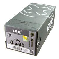 Spax GIX Typ-A, Schnellbauschraube, Trockenbauschraube, Gipskartonschraube, Länge:35 mm, Durchmesser:3.9 mm