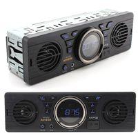 Autoradio mit Bluetooth Freisprecheinrichtung/ Lautsprecher/ USB/ AUX IN/ FM/ MP3 Player, Auto sichere digitale Speicherkarte MP3 Audio Elektro-Autoradio