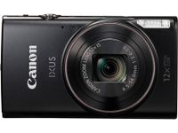 Canon IXUS 285 HS 20,2 Megapixel Full HD Kompaktkamera, 12-fach optischer/4-fach digitaler Zoom, 25 - 300 mm Brennweite, optischer Bildstabilisator, 1/2,3'' CMOS-Sensor, F3,6 (W) - F7 (T), 7,62 cm (3 Zoll) Display, WLAN, HDMI, Gesichts- und Lächelerkennung