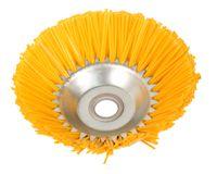 GARDINGER Kunststoff-Kegelbürste für Motorsense 200 mm ZB=25,4 mm