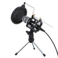 Professionelles Kondensatormikrofon Tragbares Mini-Aufnahmemikrofon fuer Sprachaufnahmen