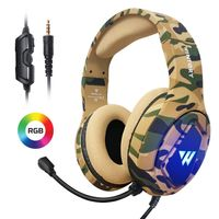 WINTORY M1 RGB-Gaming-Headset mit PS4-Laptop Xbox One Tarn-Stereomikrofon