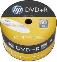 50 HP Rohlinge DVD+R 120Min 4,7GB 16x Shrink