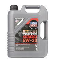 Liqui Moly Top Tec 4300 5W 30 Premium Hightech Leichtlaufmotoröl 5L