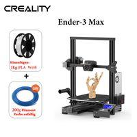 [Neu]Creality Ender-3 Max Druckgröße 300 * 300 * 340 mm + 1 kg weiß PLA-Filament