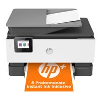 HP Officejet Pro 9012E Multifunktionsdrucker, Farbe:Schwarz-Weiß