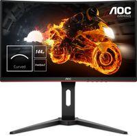 AOC Gaming C24G1 - 61 cm (24 Zoll) - 1920 x 1080 Pixel - Full HD - LED - 1 ms - Schwarz - Rot