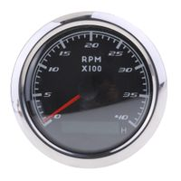 Marine Tachometer LED Stundenzähler Digital GPS Tachometer Wasserdicht Auto Car Truck Marine