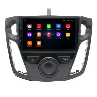 2+16G 9 Inch Car Radio GPS Navigation Player for Ford Focus 12-17 Android 10.0