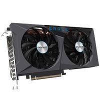 Gigabyte GV-N306TEAGLE OC-8GD 2.0 LHR-Version NVIDIA, 8 GB, GeForce RTX 3060 Ti, GDDR6, PCI-E 4.0 x 16, Prozessorfrequenz 1695 MHz, Anzahl HDMI-Anschlüsse 2, Speichertaktfrequenz 14000 MHz