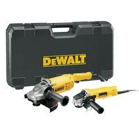 DeWALT Winkelschleifer Doppel-Set DWE494TWIN-QS - DWE494 230mm + DWE4157 125mm + Transport-Koffer