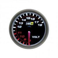 raid hp Zusatzinstrument Voltmeter Voltanzeige Night Flight Spannungsanzeige