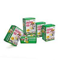 5 x Fujifilm Instax Mini Film für Instax Mini Sofortbildkameras