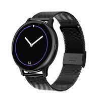 Abtel Smartwatches IP67 Wasserdichtes EKG PPG Herzfrequenzmesser,Farbe: schwarz