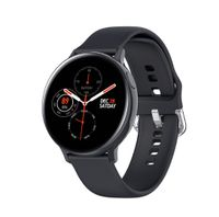 Zodight S20 EKG Smart Watch Männer Frauen IP68 Wasserdichte Herzfrequenz Blutdruck Smartwatch Fitness Tracke für Xiaomi Samsung iPhone  Schwarz