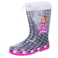 Paw Patrol Kinder-Gummistiefel Skye Grau-Pink, Farbe:grau, EU Größe:27