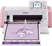 Brother SDXCE (Creative Edition) ScanNCut Hobbyplotter mit Scanner, Schneideplotter Wireless, Schneidemaschine bis 3 mm